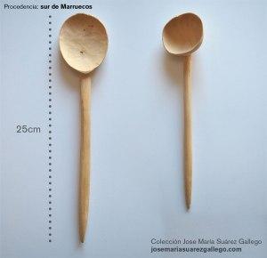 cuchara de palo de Marruecos