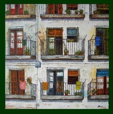 Ernest Boix: Balcones antiguos.