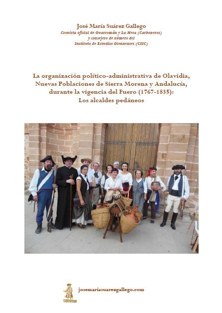 PORTADA DE LOS ALCALDES PEDANEOS DE OLAVIDIA