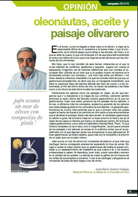 ARTICULO OLEONAUTAS, ACEITE Y PAISAJE OLIVARERO, OLEUM XAUEN 5