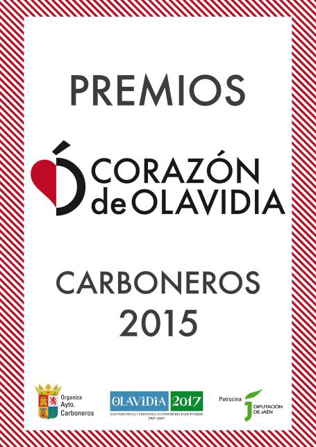Premios Corazón de Olavidia, Carboneros  2015.