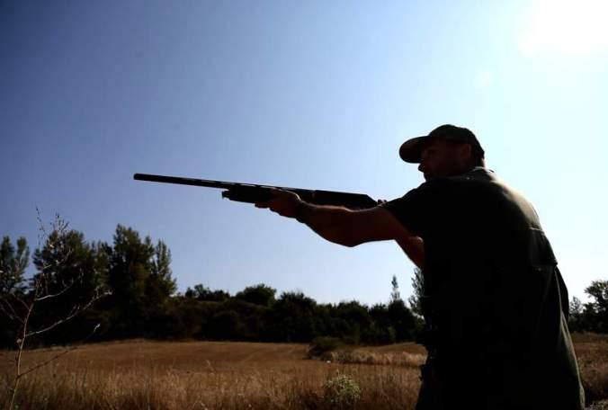 cazador de escopeta