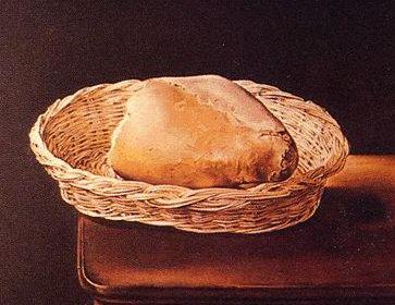 cesta de pan de Dali