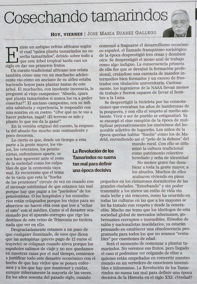 COSECHANDO TAMARINDOS