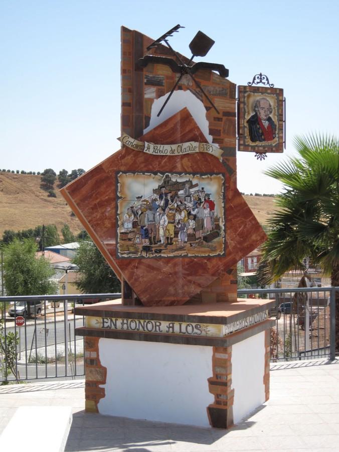 MONUMENTO A LOS COLONOS DE CARBONEROS